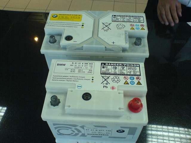 Stock Vs Csl Battery Courtesy Of Silver M Mini
